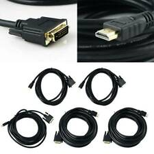 Premium HDMI Cable 4K High Speed 3D 1080 Black 1.5m 5m 8m 10m HDTV DVD