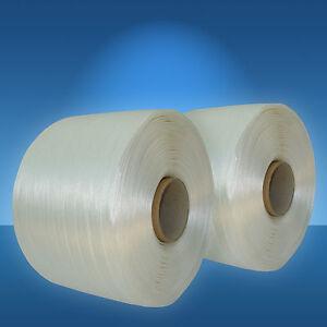 2 x 400 m Ballenpressenband 13 mm, Polyesterband für Papierpresse Ballenpresse