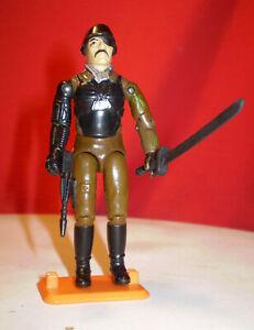 1983 GI JOE COBRA MAJOR BLUDD ENEMY 100% Complete Sword RARE VINTAGE HASBRO ARAH