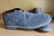 Kenneth Cole Reaction Desert Hill Chukka Boot Blue Men Size 12