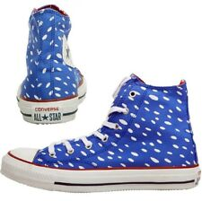 Women's Men's CONVERSE All Star MARIMEKKO HI TOP Blue White Trainers SIZE UK 6.5