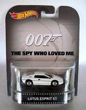 Hot Wheels 1:64 Scale Retro Entertainment James Bond 007 Lotus Esprit S1
