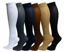 Compression Socks 15-20 mmHg Relief Calf Foot Support Stocking S-XXL Men Women