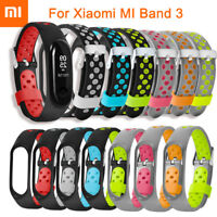 TPE Silicon Wrist Strap WristBand Bracelet Replacement for XIAOMI MI Band 3