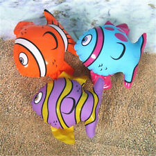 1x Inflatable Striped Fish Summer Swimming Party Decor Kids Water Toys & Pool