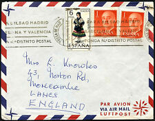 Spain 1967 Airmail Cover To UK #C42202