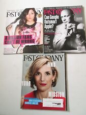 FAST COMPANY LOT OF 3 MAGAZINE ISSUES September October November 2014 YouTube
