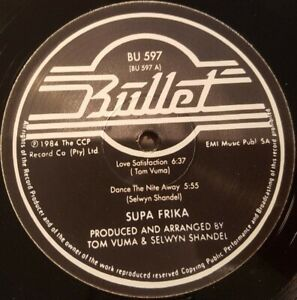 "12"" Boogie - Funk SUPA FRIKA dance the night away 1984 REISSUE"