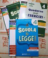 A scuola si legge, 3 volumi di Cesare Cornoldi,  2016,  Giunti -F