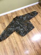 Vtg Walls Blizzard Pruf Realtree Camo Hunting Quilt Lines Jacket Coat Mens Sz L