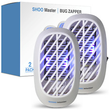 Indoor UV LED Bug Zapper Insect Killer Mosquito Fly Pest Control Plug In 2-Pack