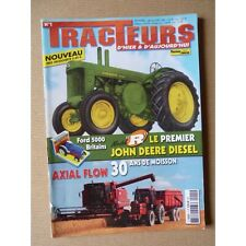 Tracteurs passion n°1, John Deere R, locotracteurs, IH Axial Flow, Musée Cazals-