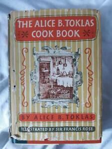 The Alice B Toklas Cookbook 1954 1st US Edition Harper Brothers
