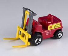 Matchbox MB 15 Lansing Bagnall Fork Lift Truck Lesney England Mint Loose 1977