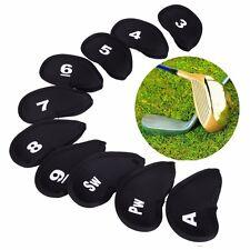 10pcs Neoprene Mazza Da Golf Putter Ferro Coperchio Testa Protezione Caso di Nuove UK STOCK