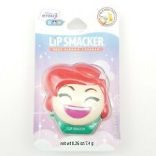 Lip Smacker Disney Emoji Ariel Lip Balm Tropical Shelfie Flavor 0.26 oz Sealed