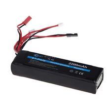 100% BQY Transmitter LiPo Battery 11.1V 2200mAh for JR Futaba WFLY NM