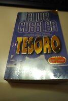LIBRO - CLIVE CUSSLER - TESORO usato.