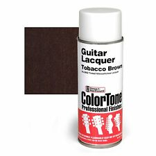ColorTone Tinted Aerosol Guitar Lacquer, Tobacco Brown