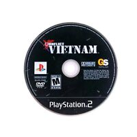 Conflict: Vietnam (Sony PlayStation 2, PS2) Game Disc ONLY Tested & Working