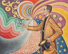 Magician Paul Signac Wall Art Print CANVAS Livingroom Painting Decor Small 8x10