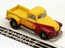 Racing Champions 1950s Chevrolet Pickup Truck Yellow/Red Chevy 1:144 MICRO Scale