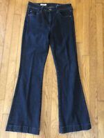AG Adriano Goldschmied The Janis High Waist Rise Flare Wide Leg Jeans Size 29 R