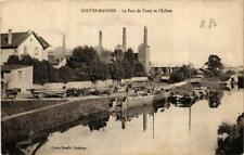 CPA Neuves Maisons. Le Port du Canal et l'Ecluse. (666122)