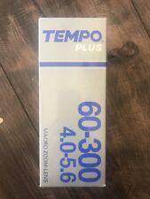 60-300mm  4.0-5.6 Tempo Plus Canon FD Macro Zoom Lens