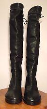 Ann Demeulemeester Black Knee High Boots 36.5