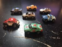MICRO MACHINES - 1990 GALOOB VINTAGE LOT (7) - DIE-CAST COLLECTION