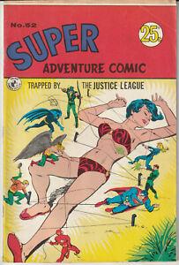 Australian Comic: Super Adventure Comic #52 Colour Comics 1972