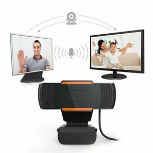 HD USB Webcam With Microphone Web Camera With Mic For PC Laptop Zoom Skype