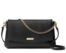 Kate Spade * Greer Laurel Way Black Clutch Crossbody Bag WKRU4092 COD PayPal
