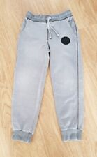 Boys Converse All Stars Slim-Fit Tracksuit Trousers Age 8-10 Years Grey