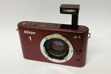 Nikon 1 J2 Gehäuse / Body (ohne Objektiv) Systemkamera J 2 rot / red B-Ware