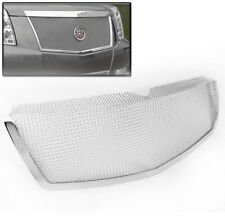 2007-2013 CADILLAC ESCALADE CHROME FRONT UPPER MAIN TOP MESH GRILLE GRILL INSERT