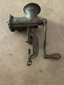 Enterprise Tinned Meat Chopper No. 10 Vintage Appliance Grinder