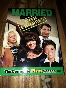 Married...With Children - The Complete First Season (DVD, 2003, 2-Disc Set) TV