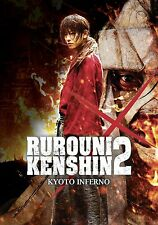 RUROUNI KENSHIN 2 Kyoto Inferno DVD FILM in Giapponese NEW .cp