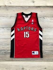 Toronto Raptors Garbajosa #15 Champion NBA Basketball Vintage Jersey 9/10 years