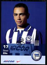 Sead Zilic Hertha BSC Berlin 2002-03 Autogrammkarte Original Signiert + A 84185
