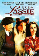 Lassie Come Home (1943) - Elizabeth Taylo,Roddy McDowall, Donald Crisp - DVD NEW