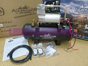 New Omega AC-2.0MP 12V 2 Gallon AC200psi Air Compressor up to 200psi 12 volt
