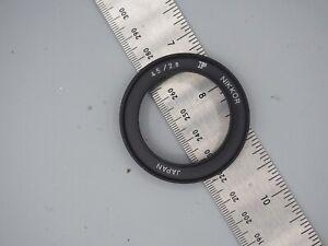 nikon 45mm f:2.8 lens hood for gn lens