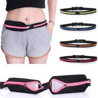 Hiking Waist Belts Bag Fanny Pack Pouch Bum Sports Running Wallets Pocket Bags
