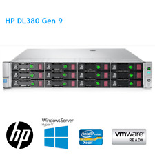 HP DL380 Gen9 2 x E5-2699 V4 64GB RAM P840 4GB 12 x 6TB SAS 561FLR-T Rail Kit