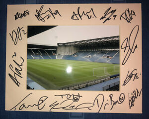 West Brom Albion WBA 21/22 HAND SIGNED 10x8 MOUNT DISPLAY Signed By 15 Players B