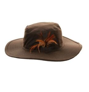 Adults Unisex Wax Aussie Bush Hat