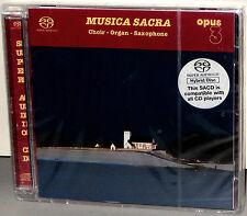 OPUS 3 Hybrid SACD 19516: Erik Westberg - Musica Sacra - 2001 GERMANY SEALED